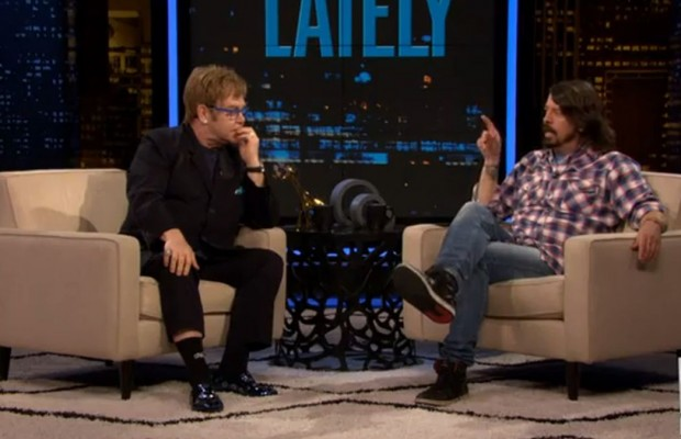 Elton and Grohl Takeover Chelsea Lately