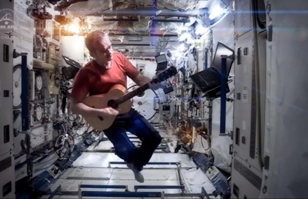 """Space Oddity"" Covered On The International Space Station"