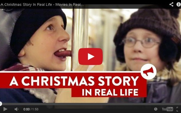 A Christmas Story Redeux Subway Style