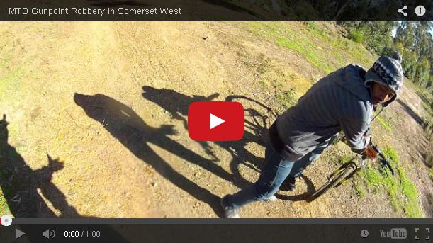 A Mountain Biker Is Mugged While His GoPro Camera Is Recording